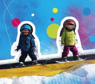 PROSNEIGE SKI SCHOOL - NEW ! MINI RIDER from 4 years old.