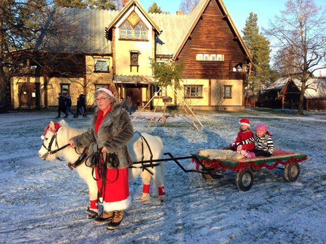 Julmarknad på Zorngården