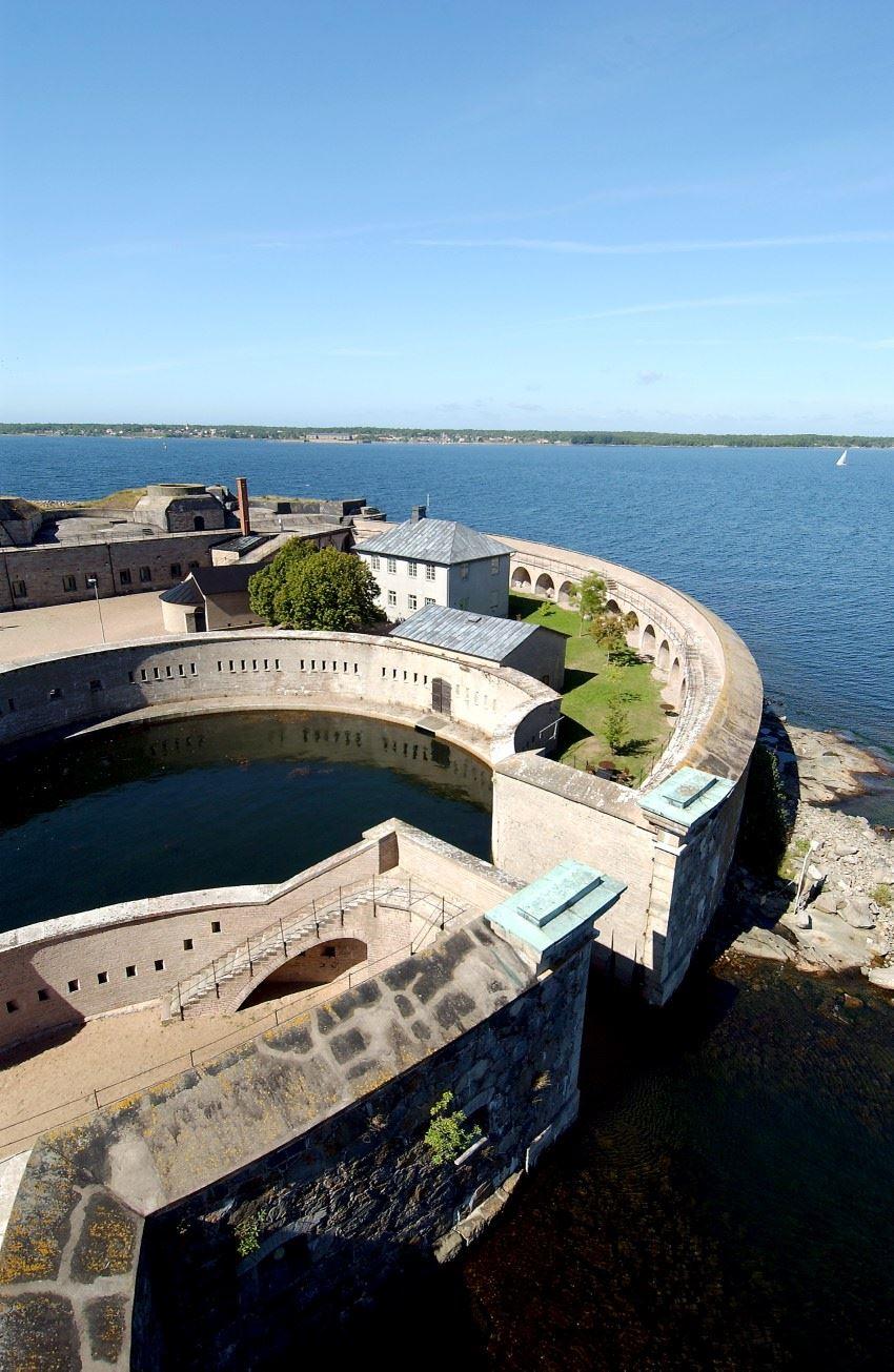 Guidad tur - Kungsholms Fort med båt