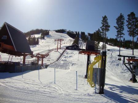 Gesundaberget Lift & Toppstuga &  Kattis Kafé med skiduthyrning