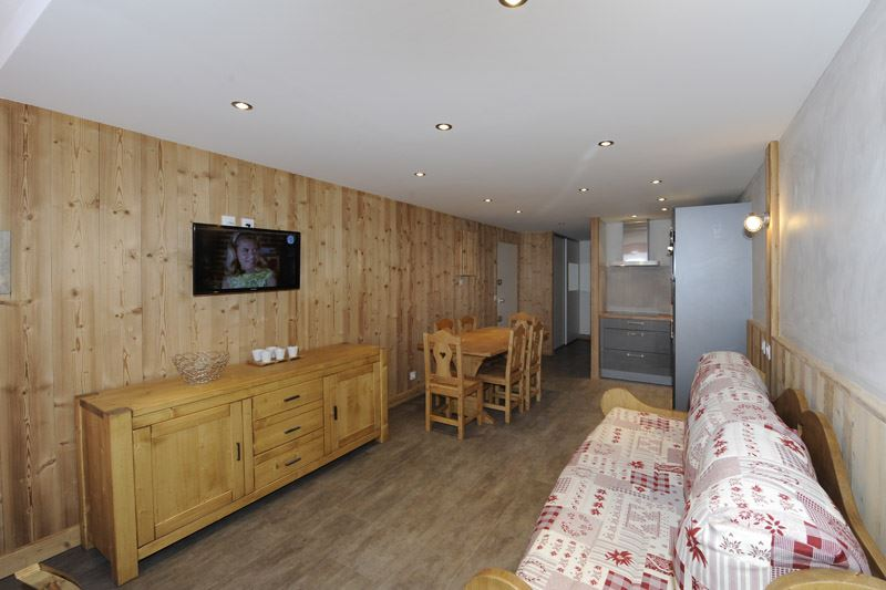 2 Rooms cabin 5 Pers ski-in ski-out / PECLET 105