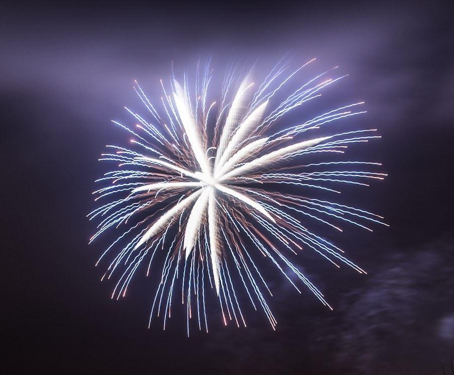 Nyårsfirande på Hamntorget