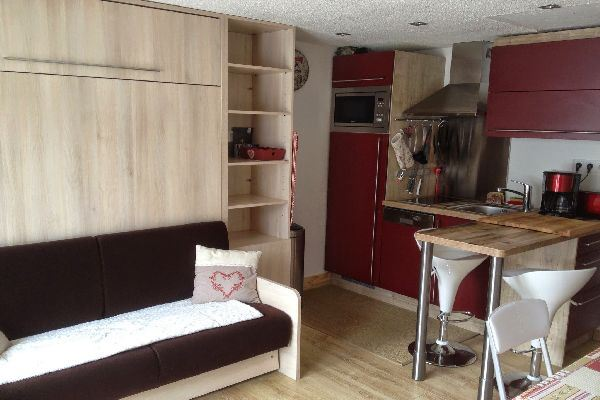 Grizzly - AO 2012 - 1 room + alcove - 4 people - 27m²