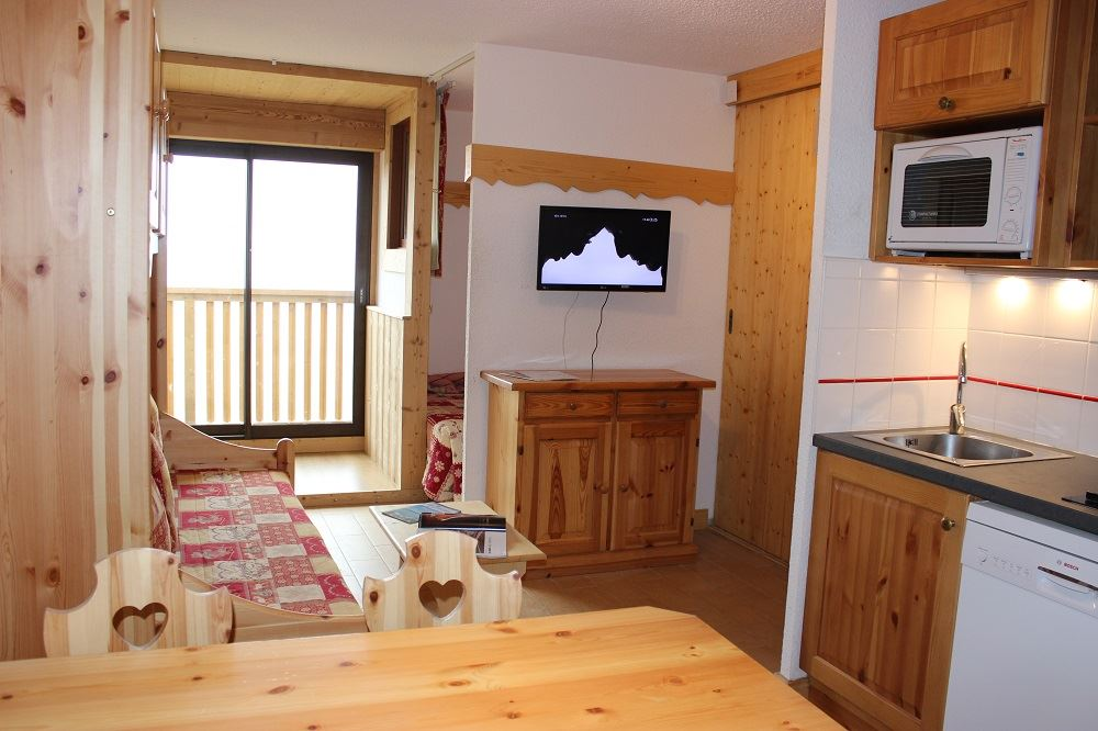 CIMES DE CARON 1002 / 2 ROOMS 4 PEOPLE TYPE A GRAND COMFORT - 3 SNOW FLAKES SILVER