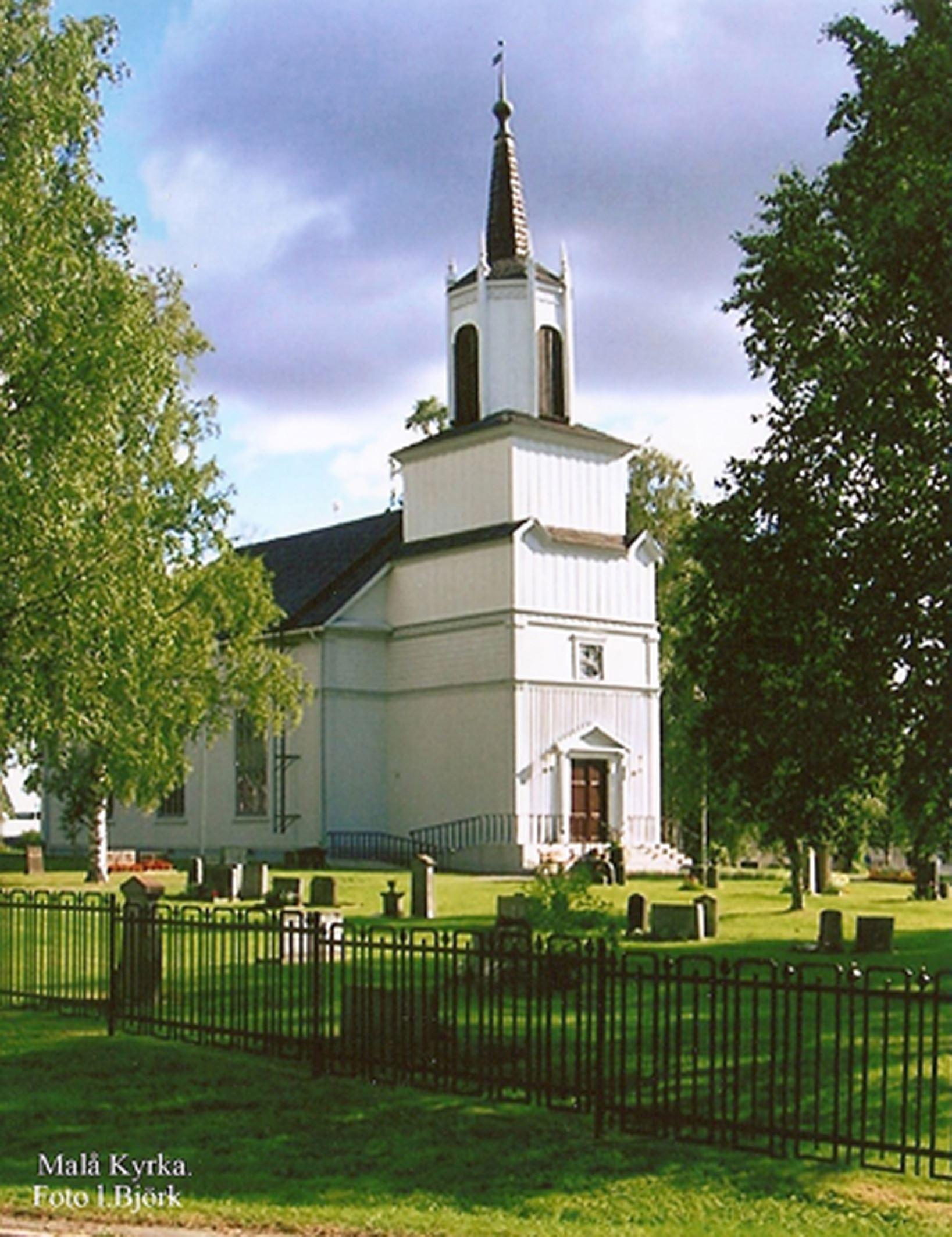 Lennart Björk,  © Malå kommun, Malå kyrka