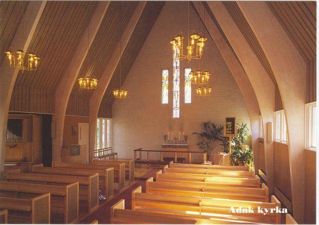 Leif Henningsson,  © Malå kommun, Adak kyrka