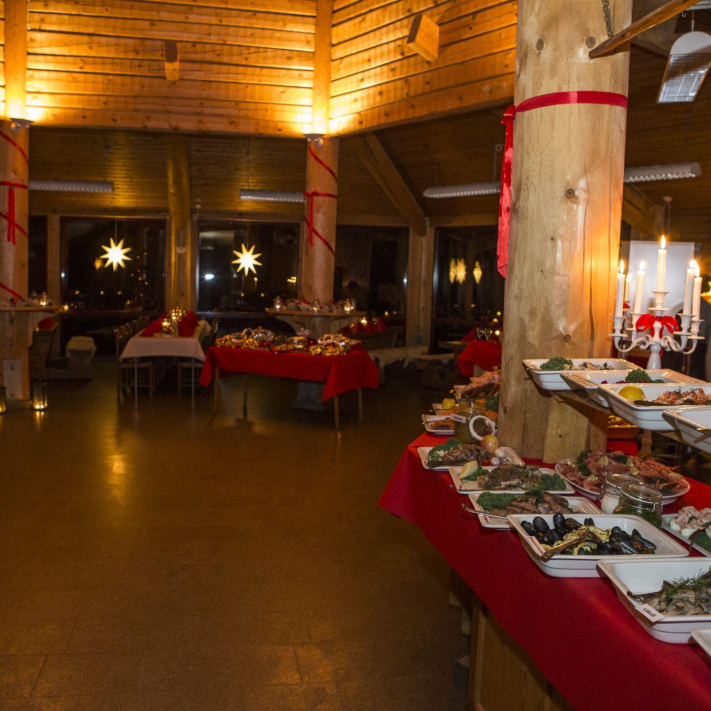 Julbord på Nordens Ark