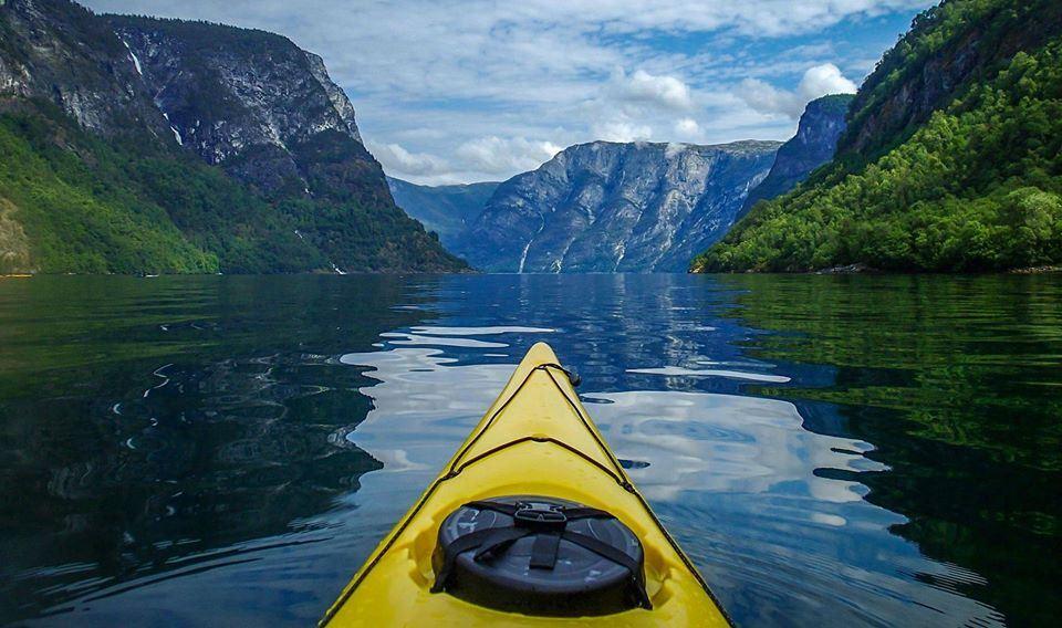 Sea kayaking from Gudvangen
