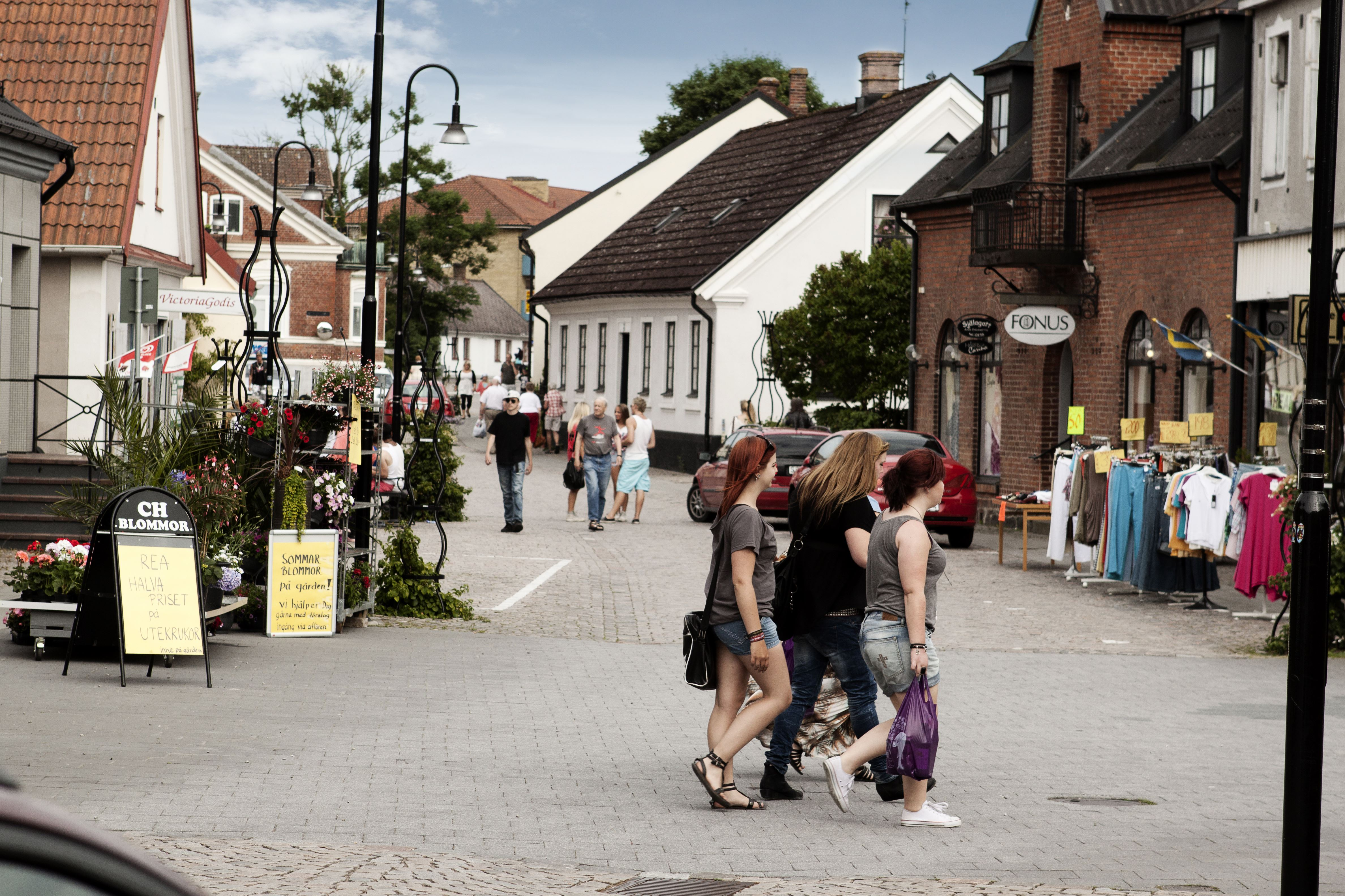 Cityshopping i Hörby