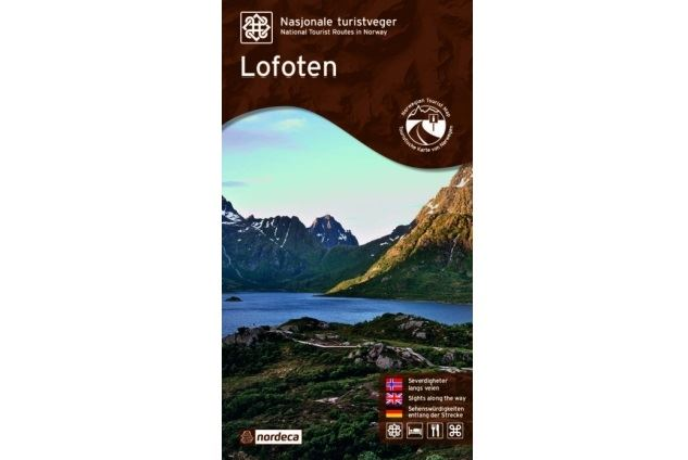 National Tourist Route Lofoten map