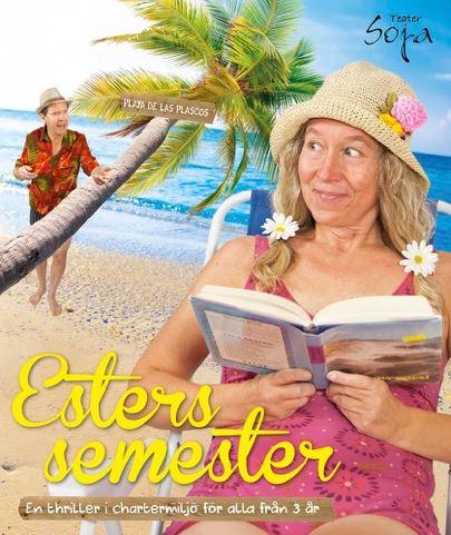 Barn och familjeföreställning Esters semester