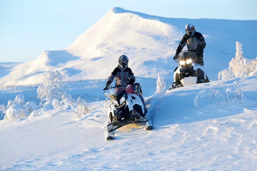 Hemavans Fjällcenter snowmobile rental
