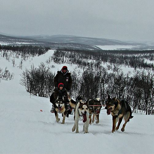 Holmen Husky Weekend Trip