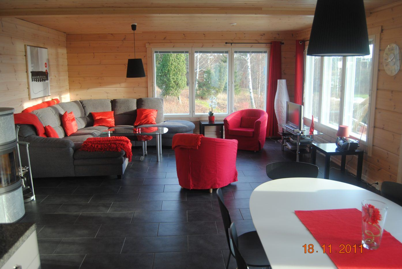 Logvilla for 10 people