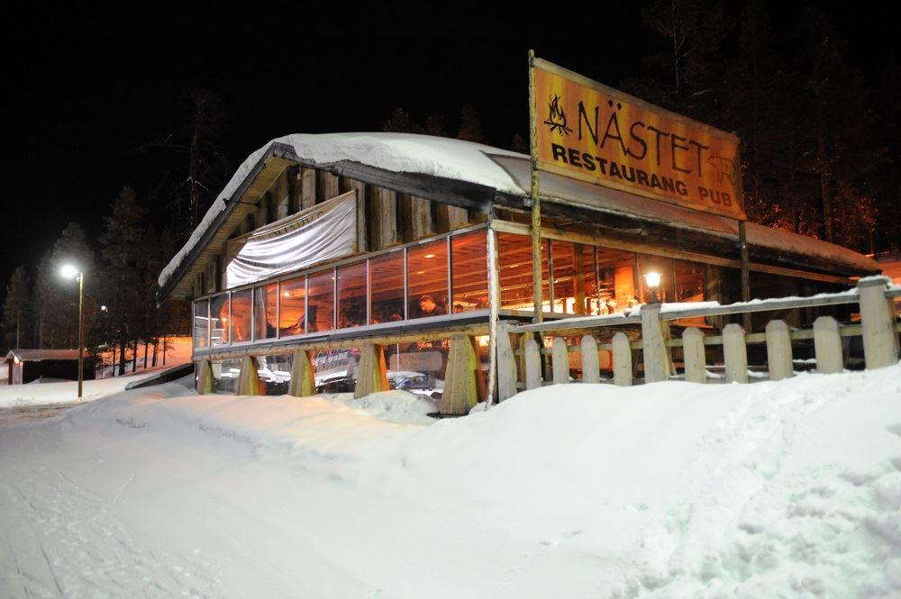 After ski på Vildmarksnästet