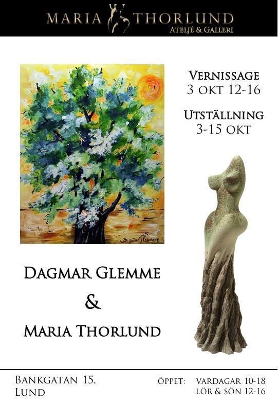 Utställning: Dagmar Glemme & Maria Thorlund