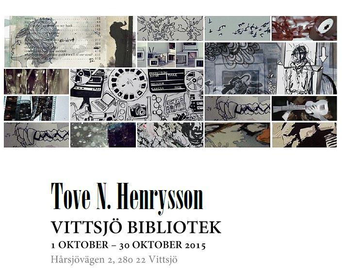 Utställning på Vittsjö Bibliotek