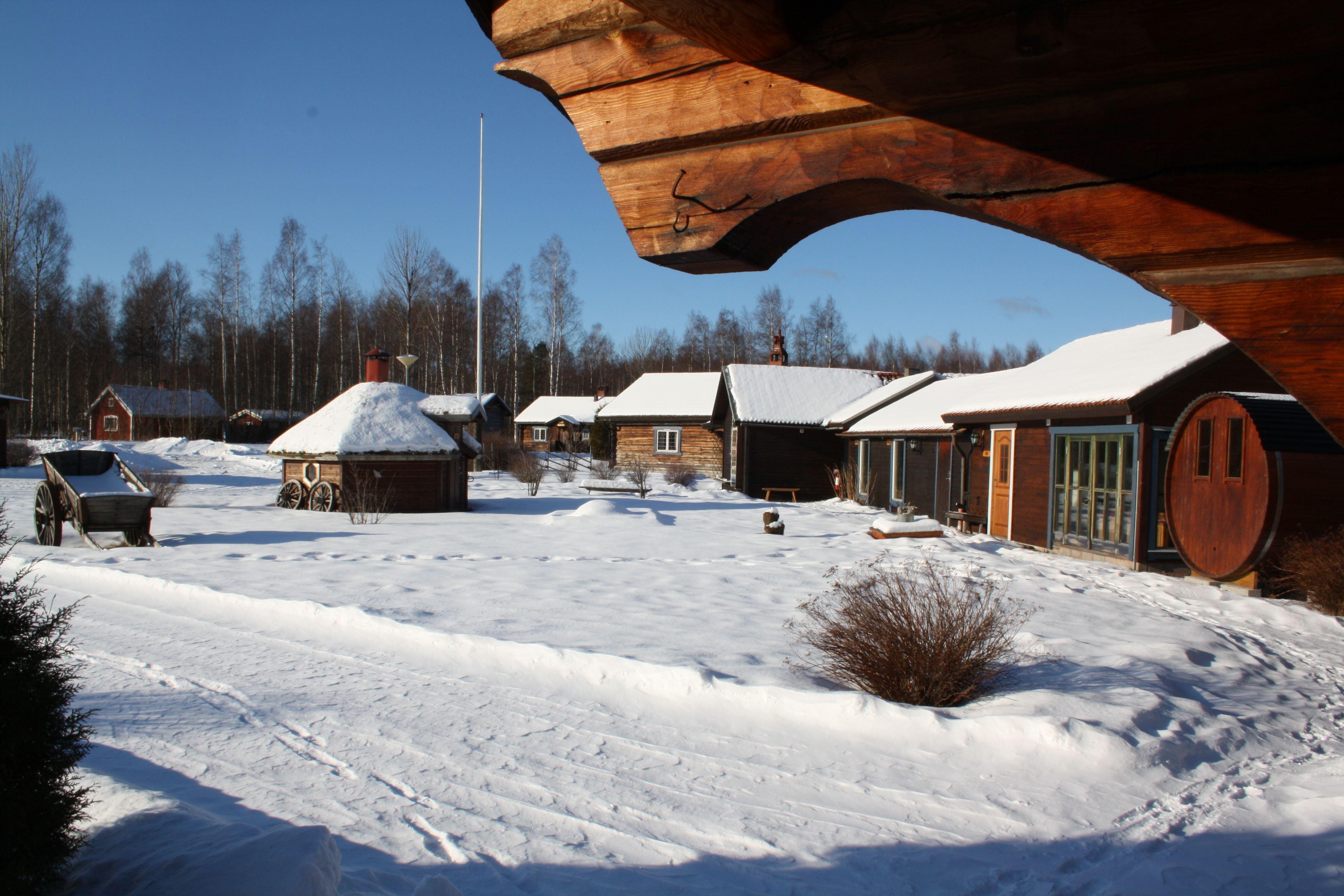 Åmåsängsgårdens Stugby, Mora/Stugor