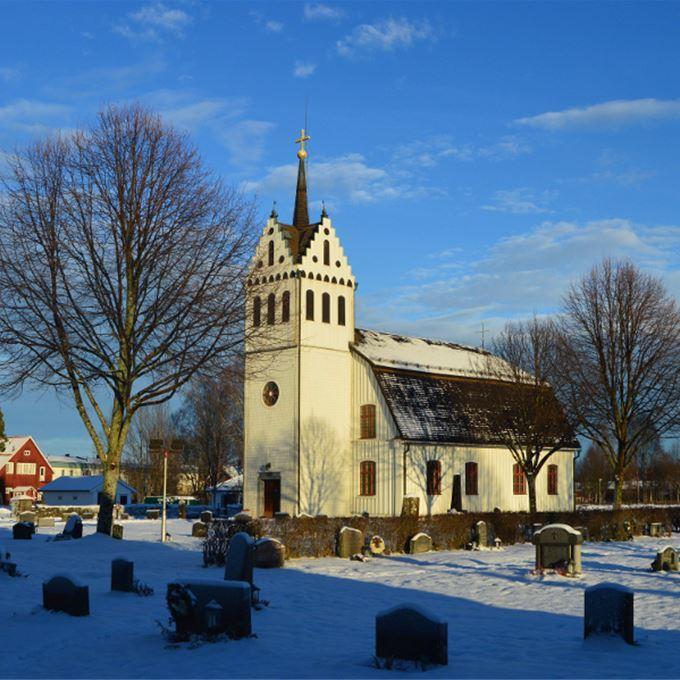 Svarte Sören, Mockfjärds kyrka