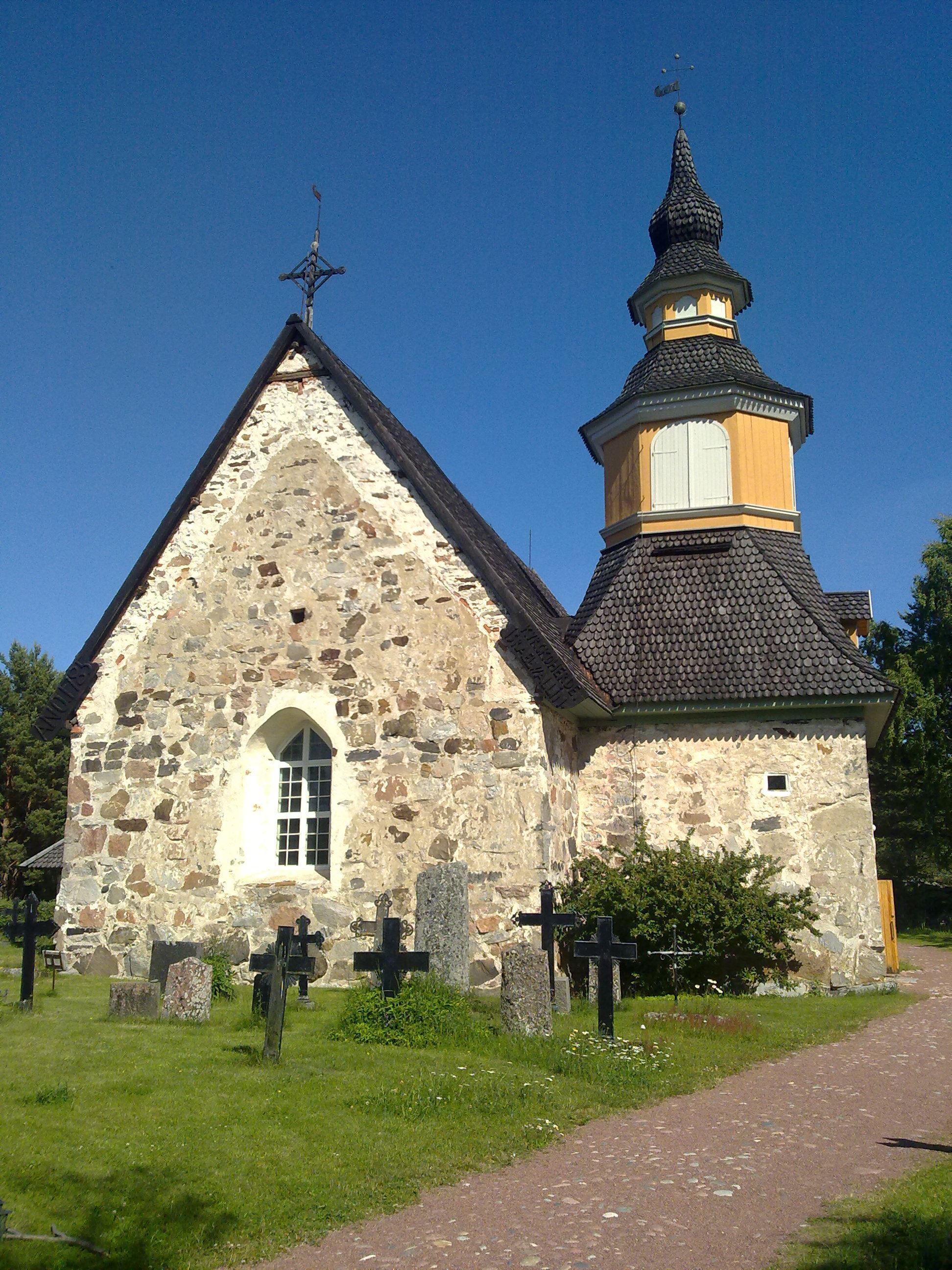 Heidi Ikonen, S:ta Anna kyrka, Kumlinge (Pyhän Annan kirkko)