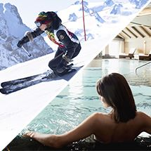 3 VALLEYS SKI PASS + AQUATIC & WELLNESS CENTRE (unlimited access)