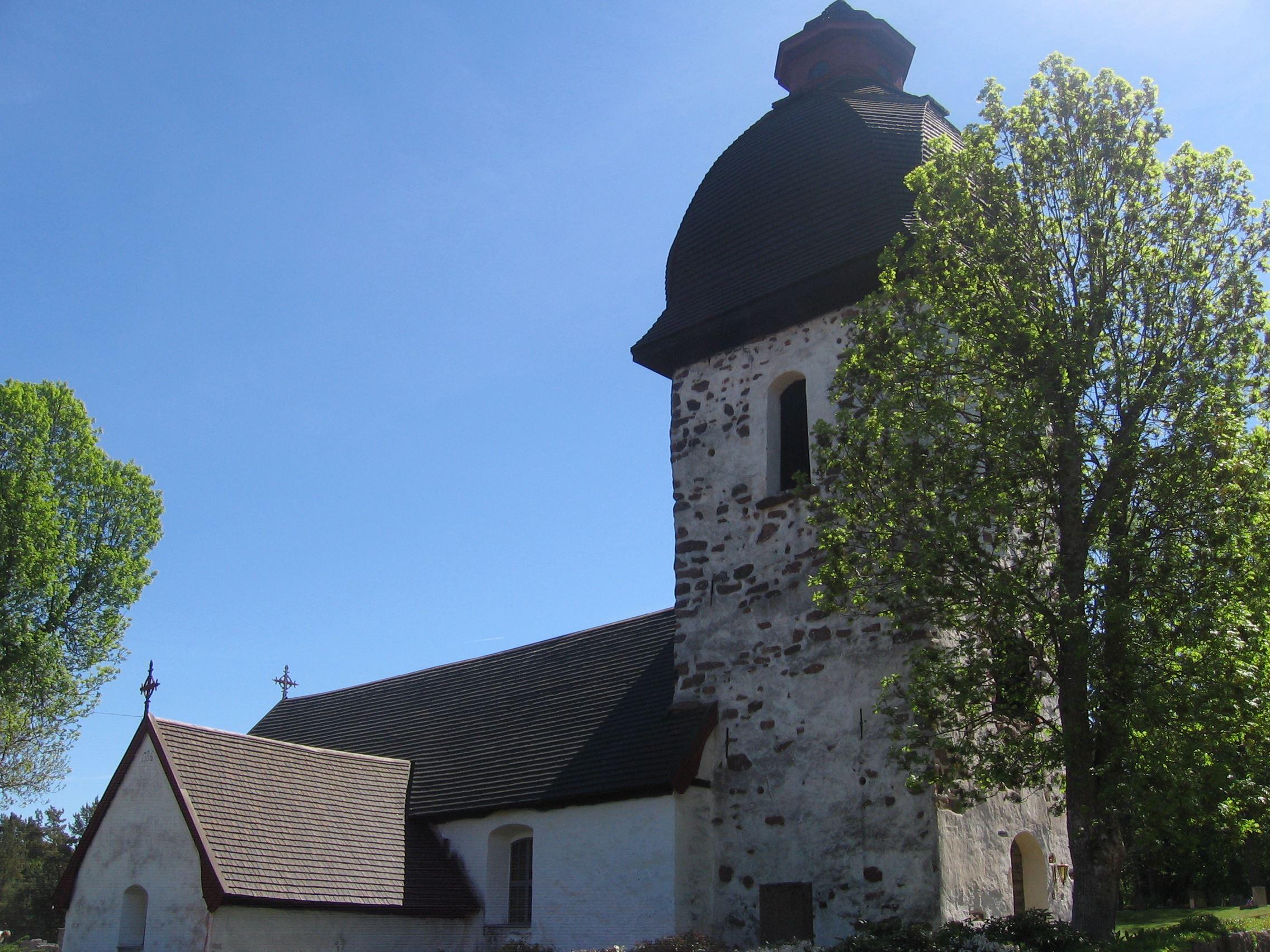 Heidi Ikonen, S:t Matthias kyrka, Vårdö (Pyhän Matiaksen kirkko)