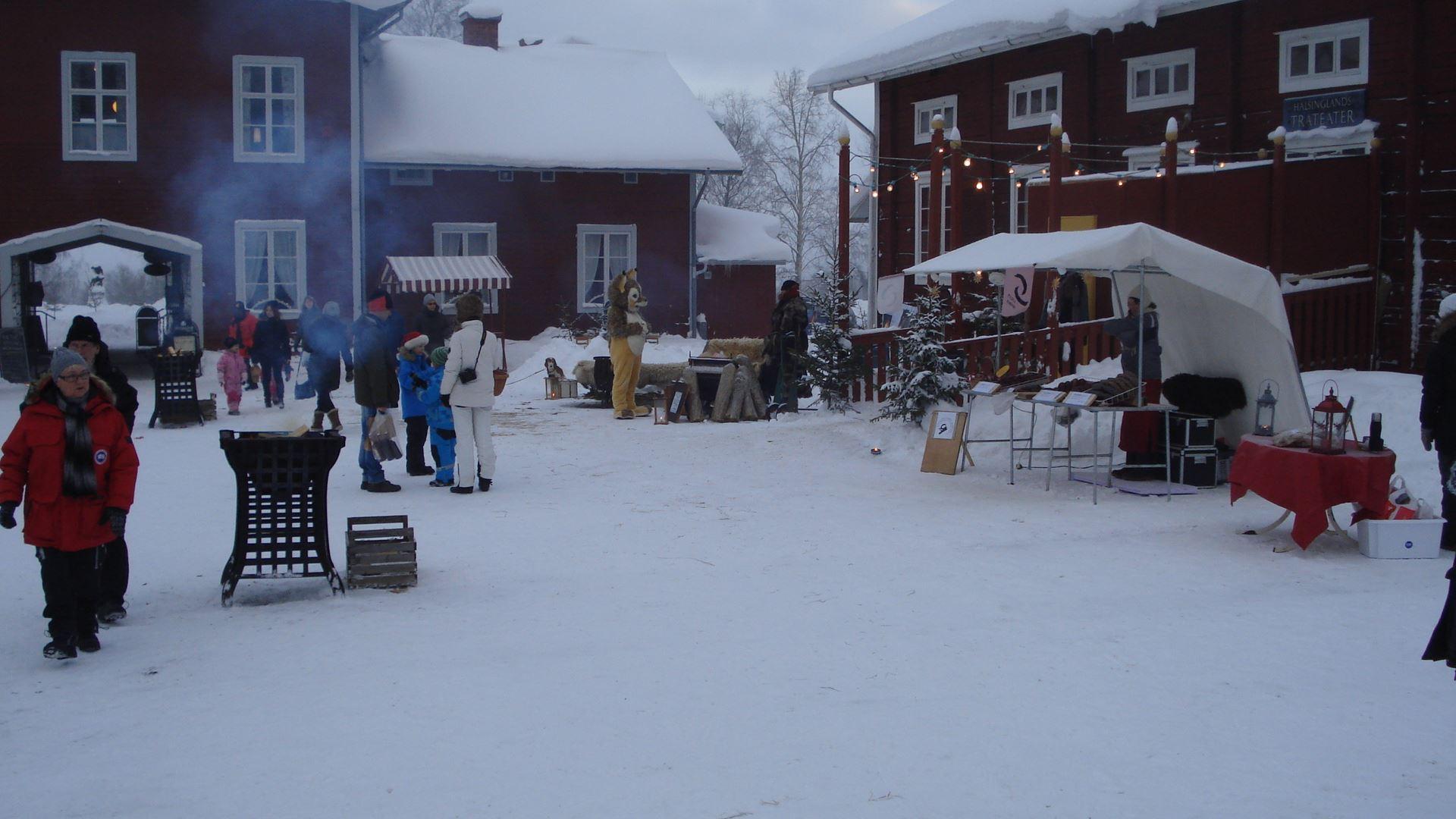 Järvsö Hembygdsförenings Julmarknad på Stenegård