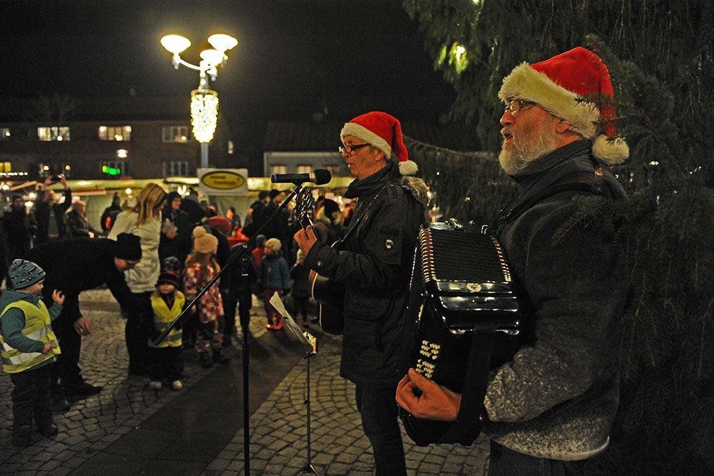 Christmas market in Vetlanda