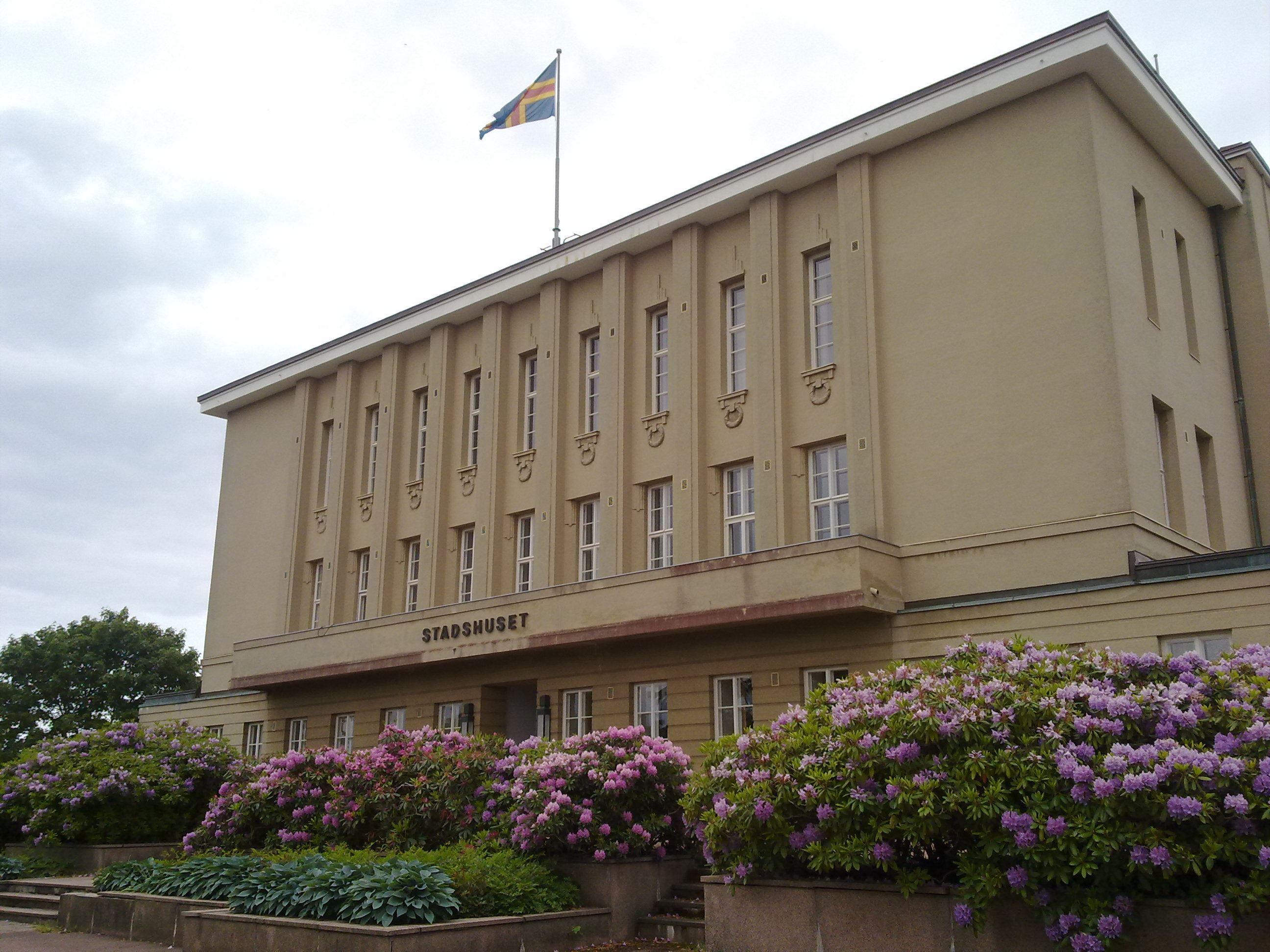 Heidi Ikonen, Mariehamns stadshus