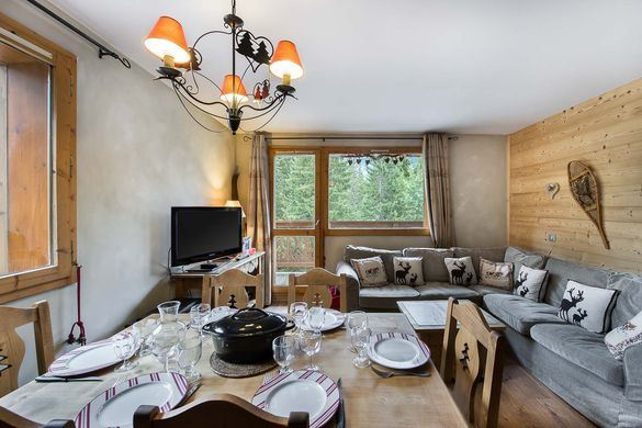 4 rooms 6 people LE BELVEDERE 108 (mountain of charm)