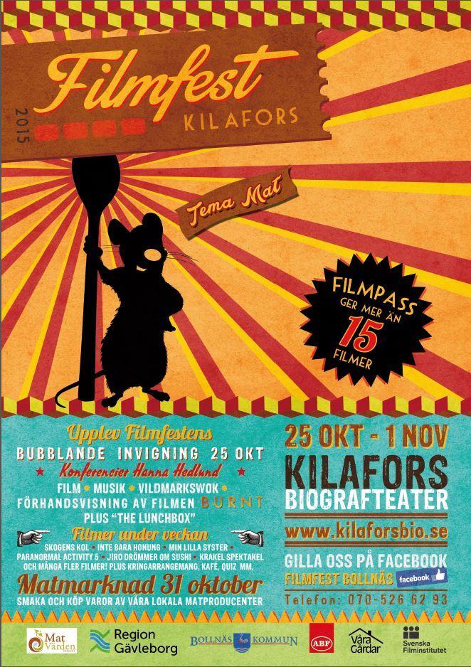 Filmfest Invigning i Biografteatern Kilafors
