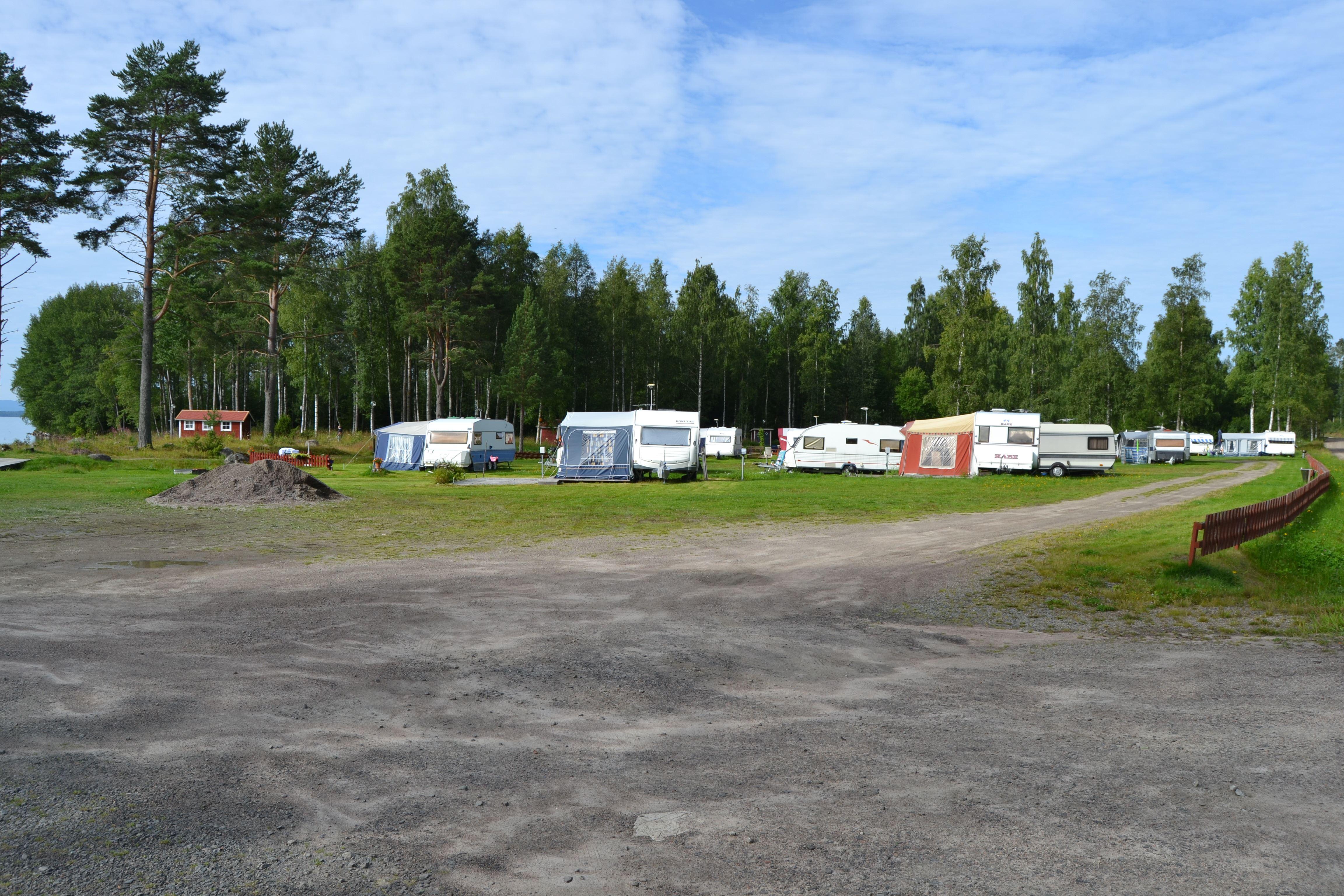 Malin Löthmyr,  © Visit Glada Hudik, Fönebo Camping / Campsite