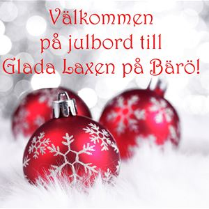 Christmas buffet at Glada Laxen