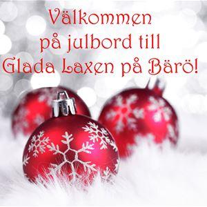 Joulupöytä: Glada Laxen