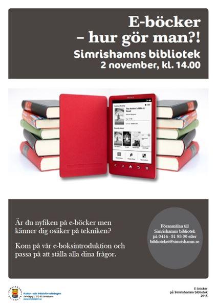 E-böcker - hur gör man?