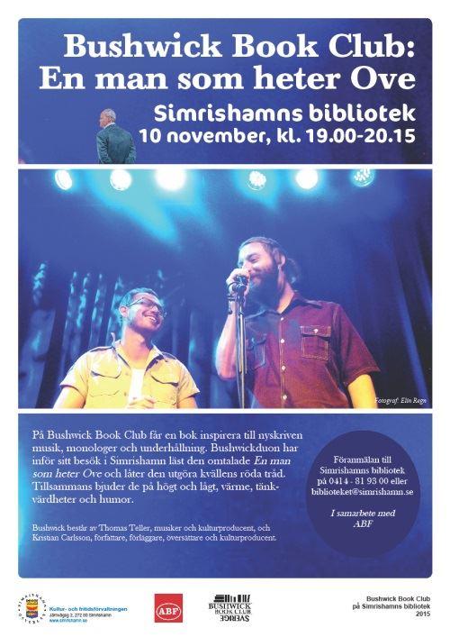 Bushwick Book Club: En man som heter Ove