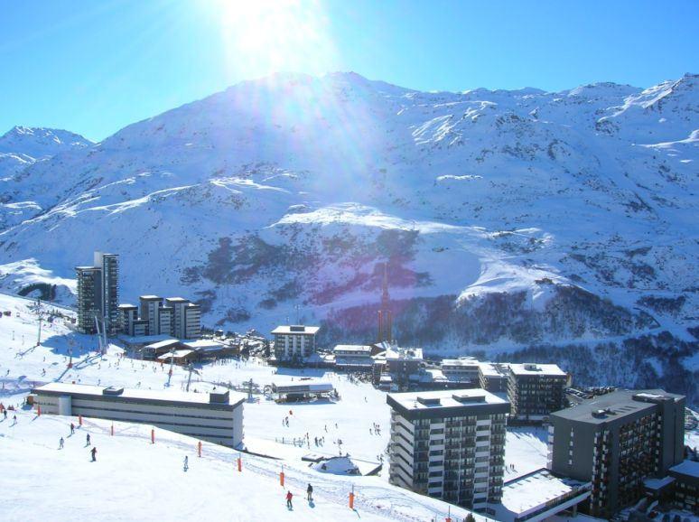 2 Pièces 6 Pers skis aux pieds / COTE BRUNE 712