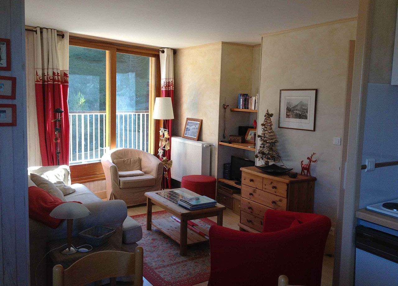 2 rooms 4 people ski-in ski-out / MONT JOVET (mountain of charm)