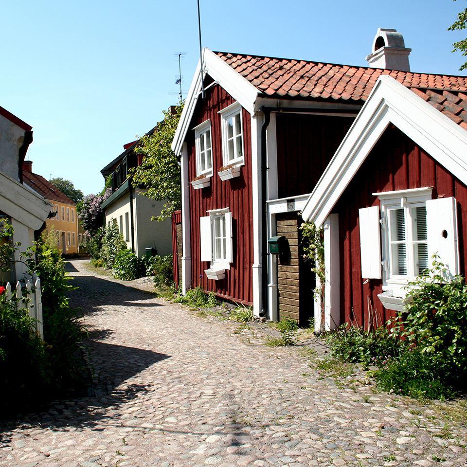 Die Altstadt von Kalmar