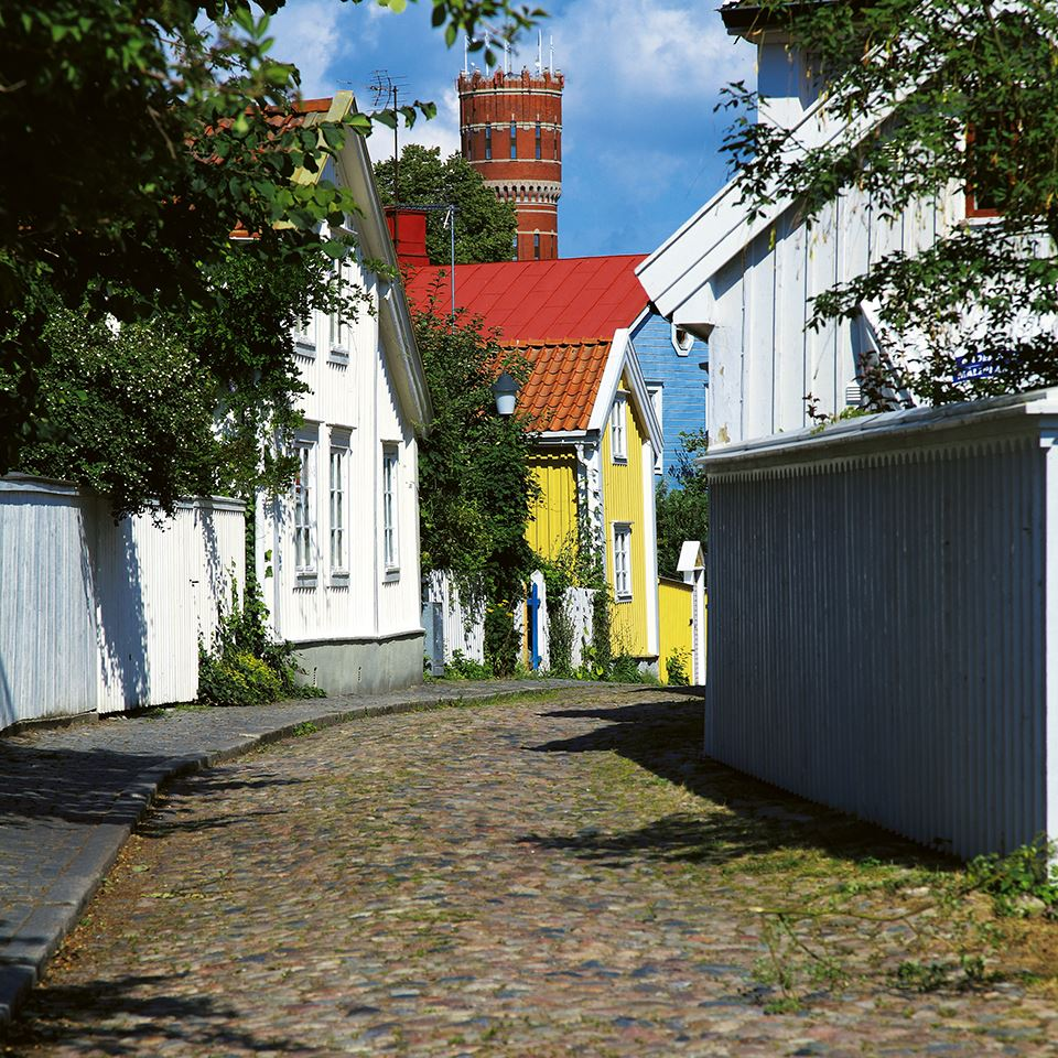 The Old Town in Kalmar
