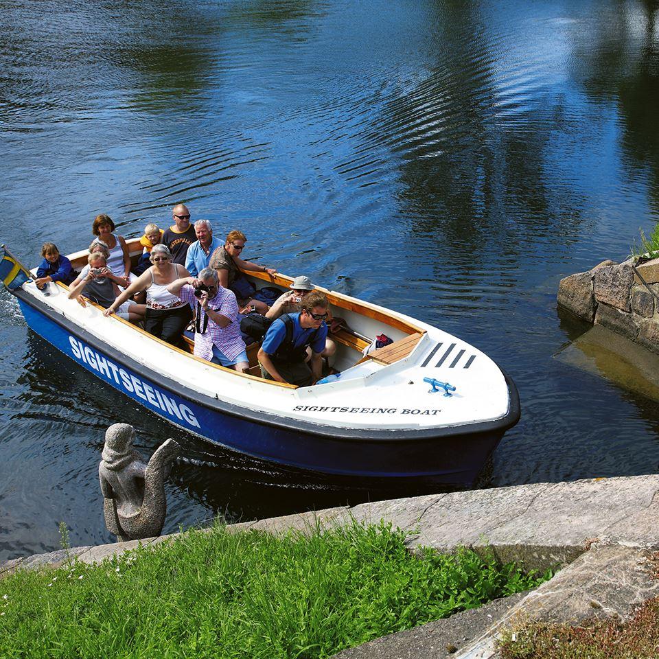 Sightseeingboot Kalmarflundran