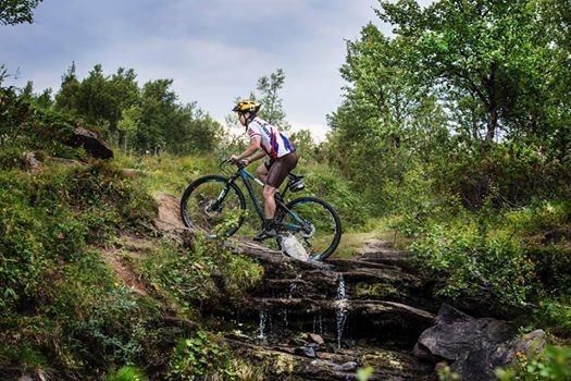Strapatser Mountainbike uthyrning