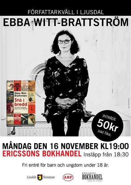 Författarkväll - Ebba Witt-Brattström