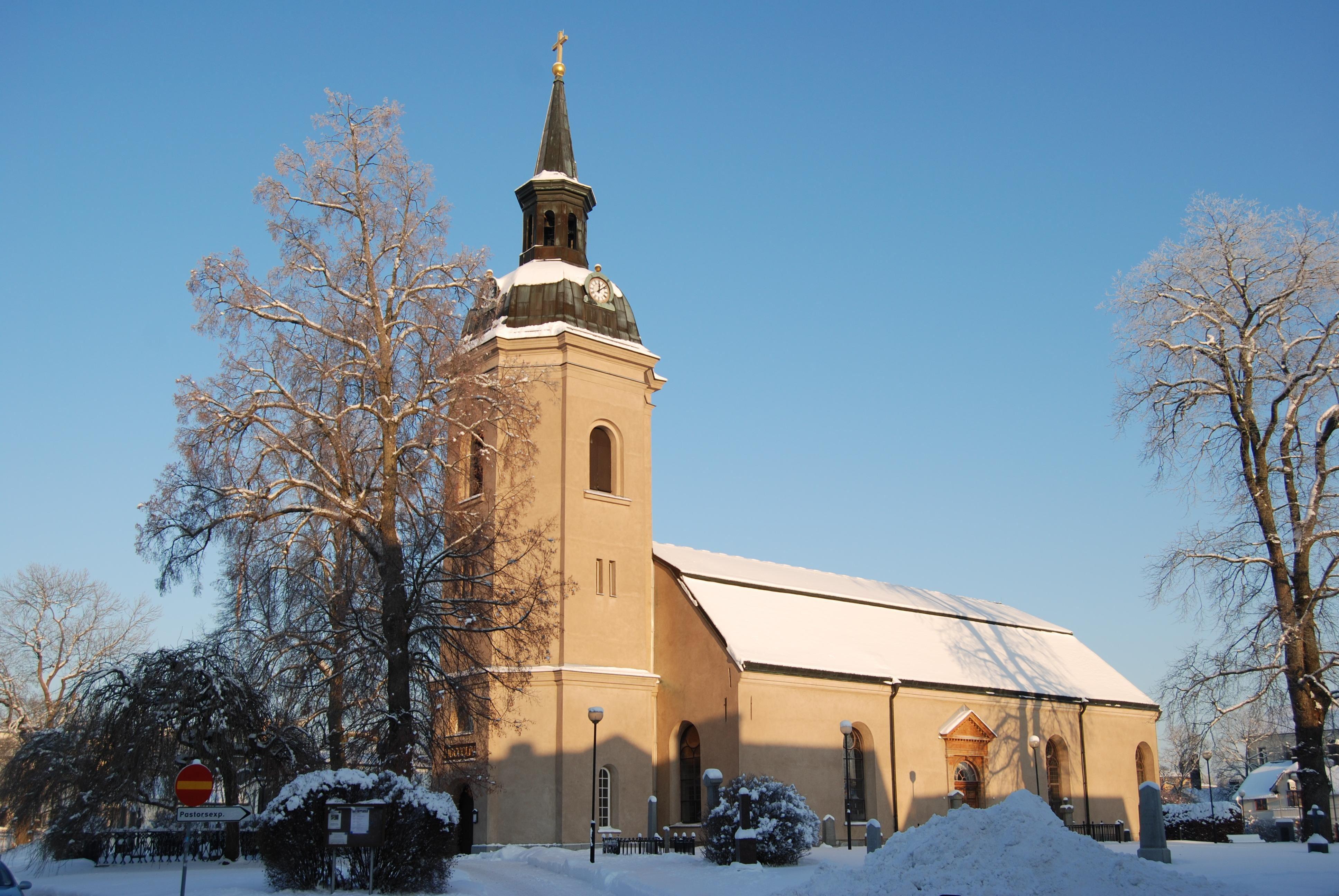 Adventskonsert med Norrtälje Manskör, Norrtälje kyrka