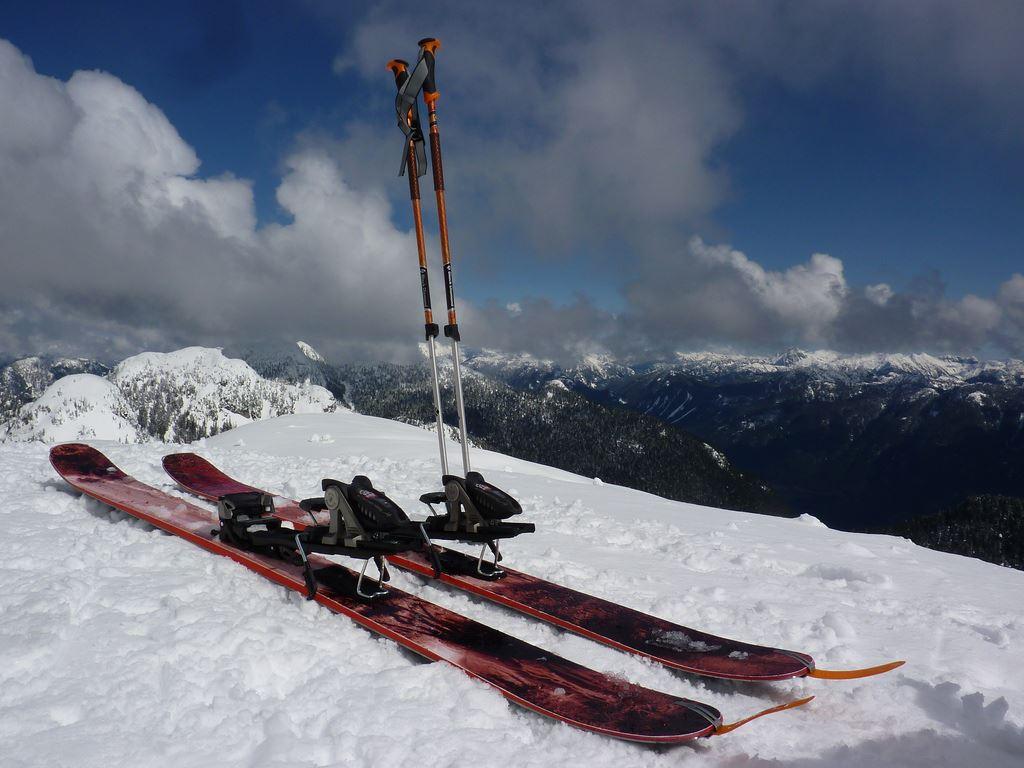 Alpina ski, komplett pakke