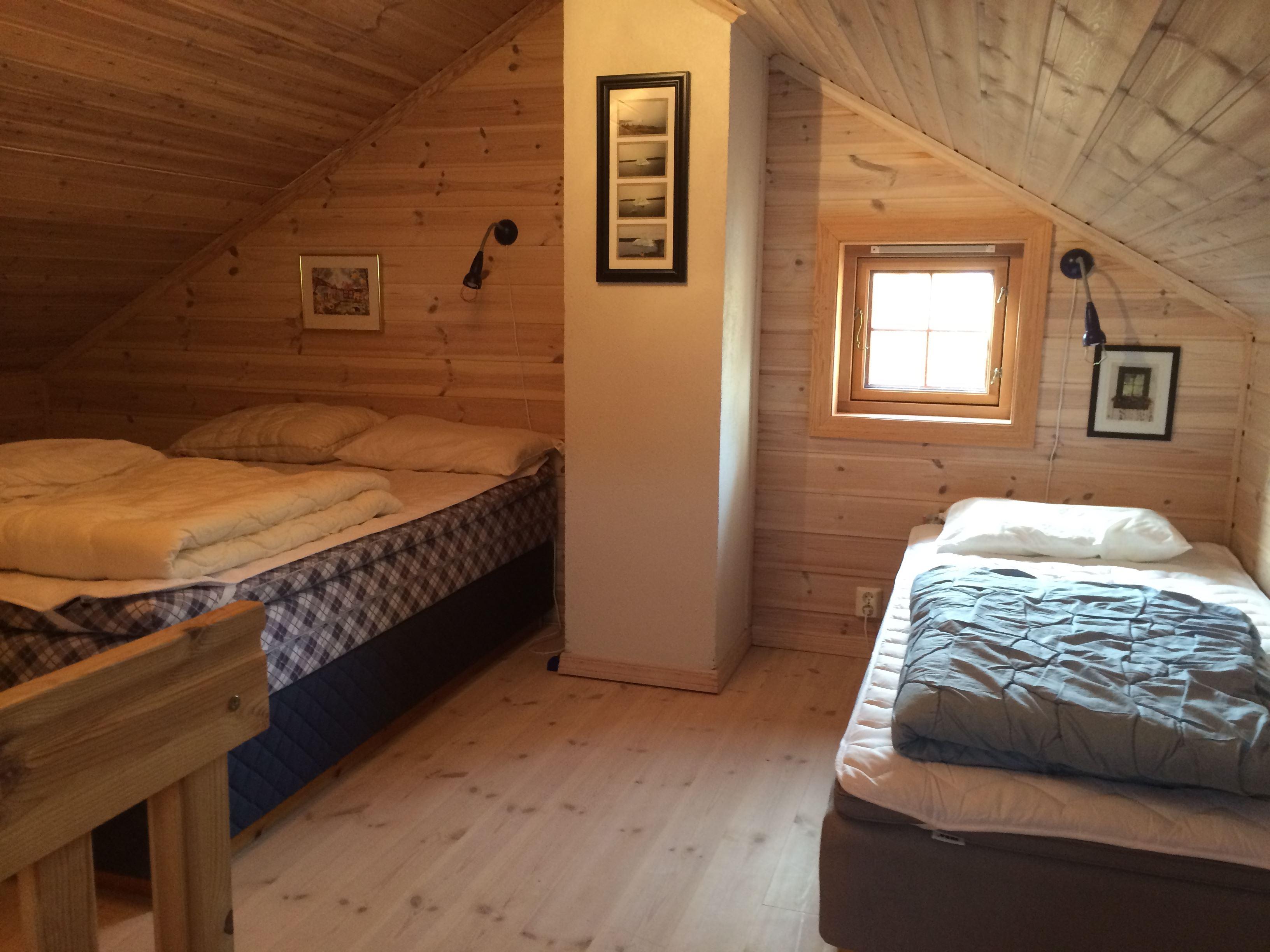 Hytte med 3 soverom og hems