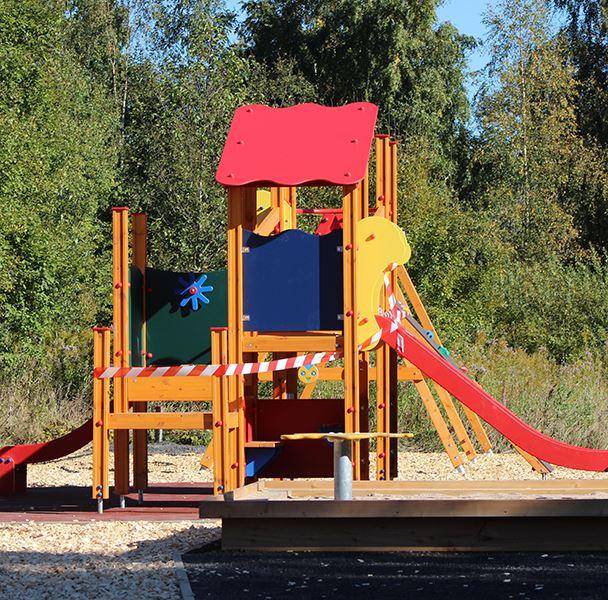 Invigning av Diö lekplats