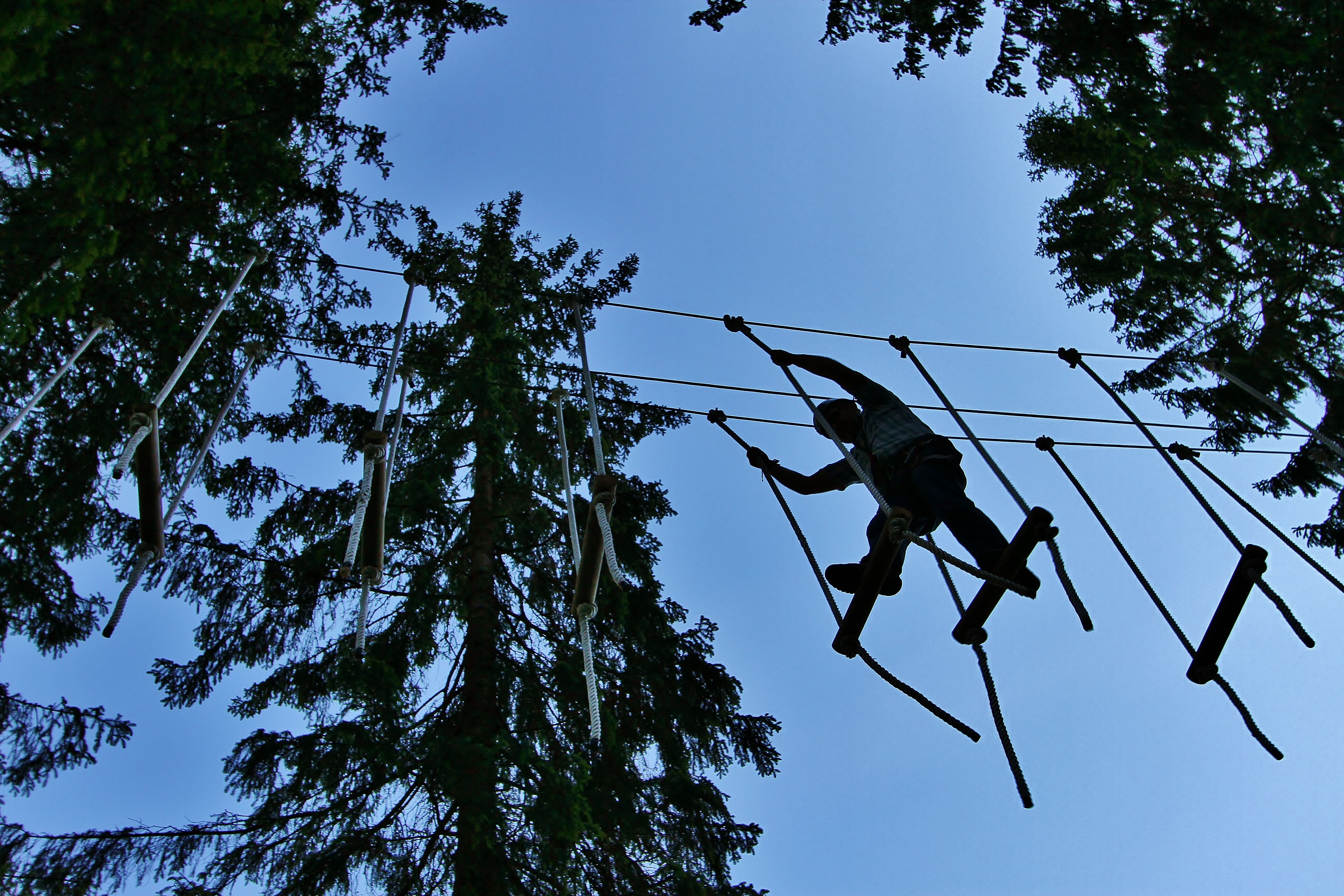 Photo: Mikael Sund, Voss High Ropes Course
