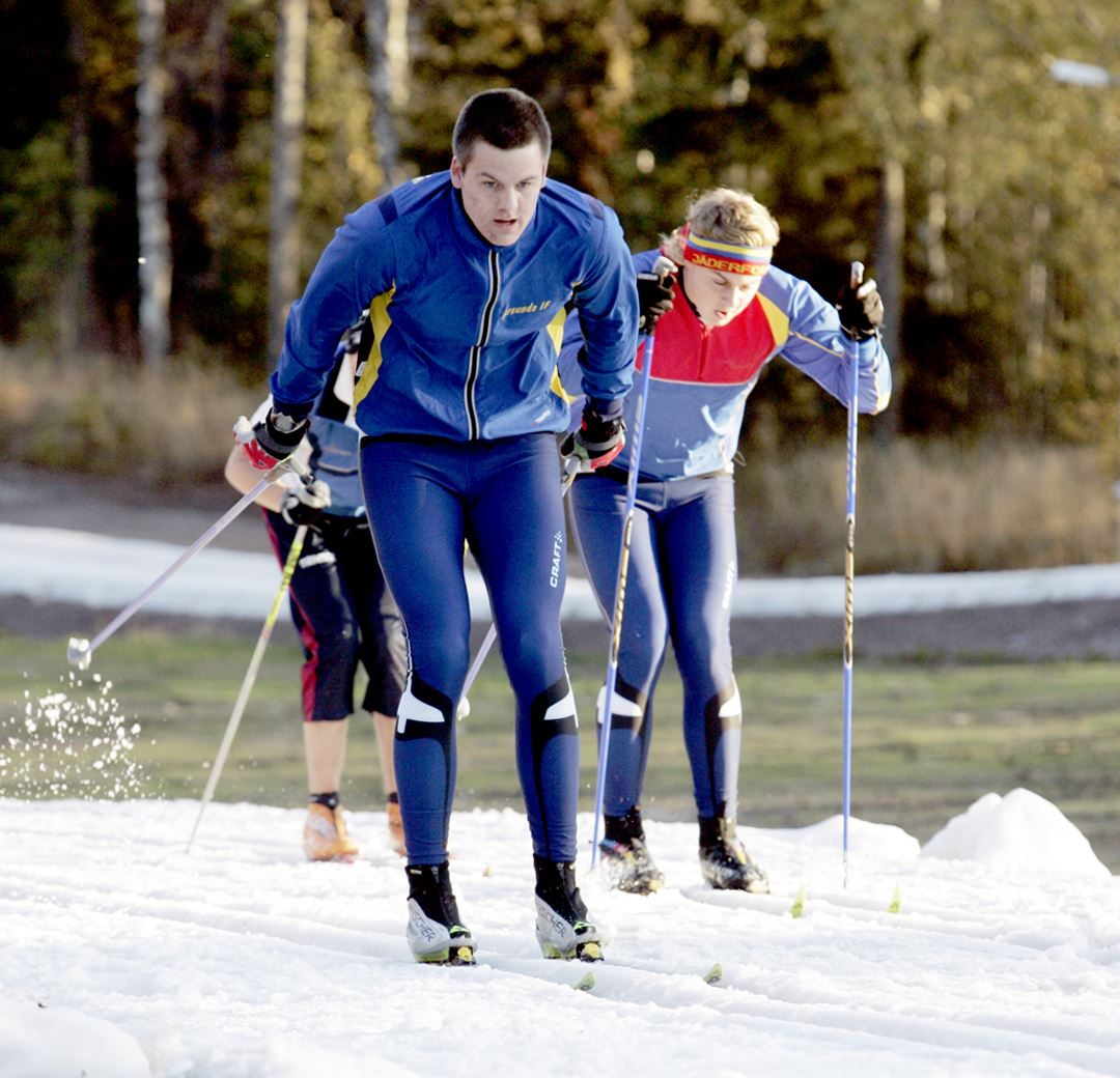 Cross-country skiing in Högbo Bruk