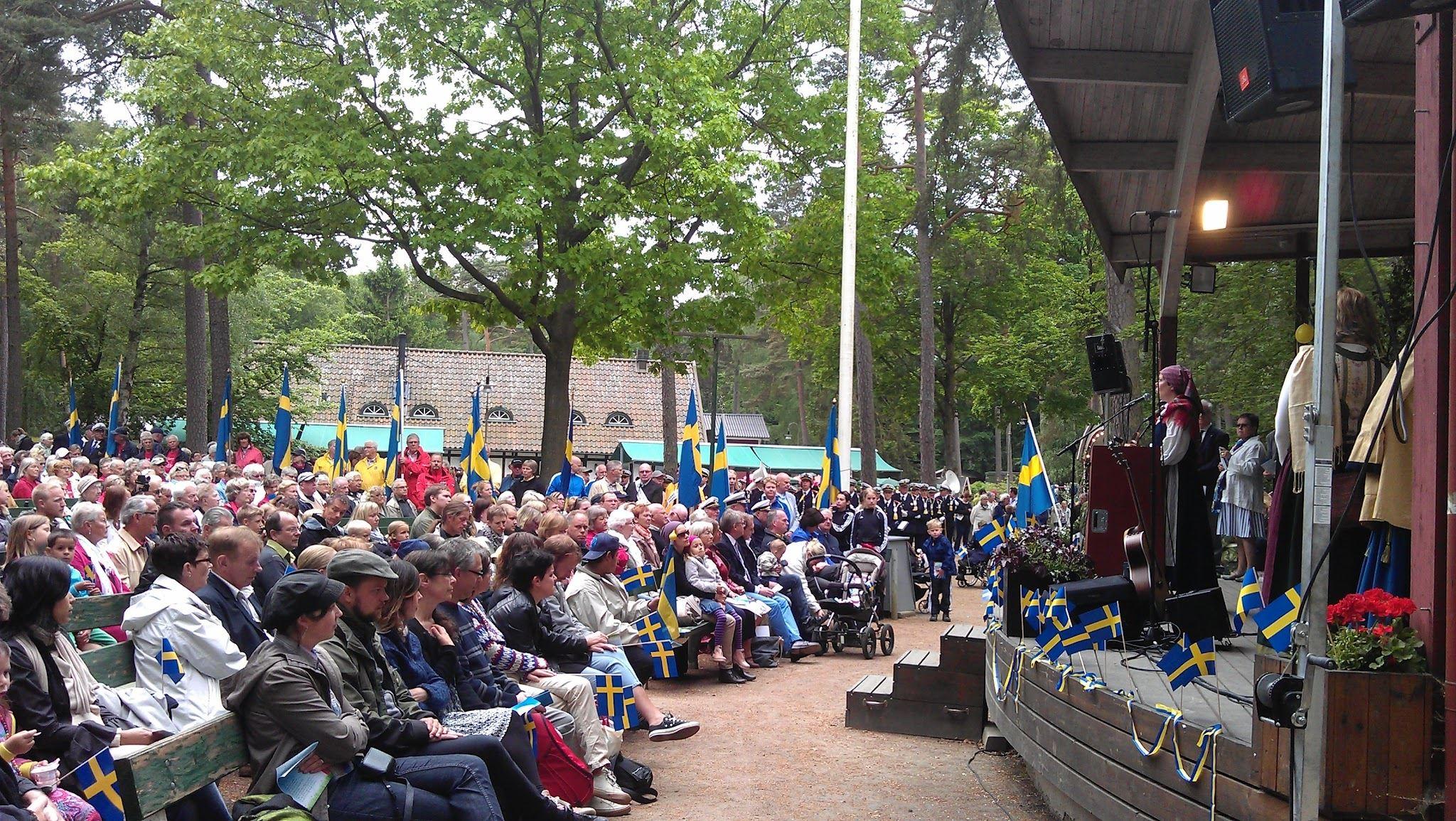 Nationaldagsfirande i Hembygdsparken